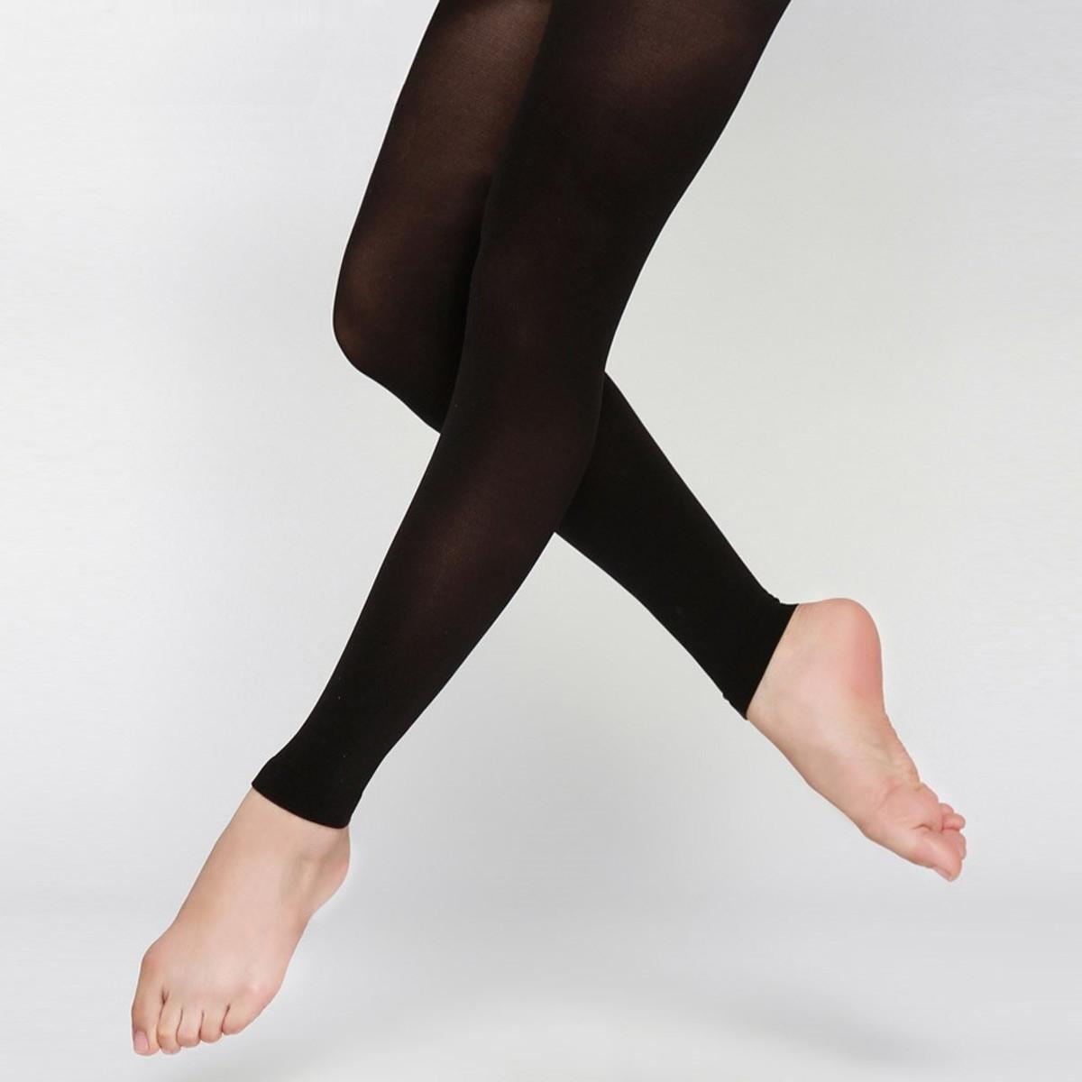 addbc40db5 Meia-calça Ballet Legging Fio 70 Juvenil Adulto Sem Pé no Elo7 ...