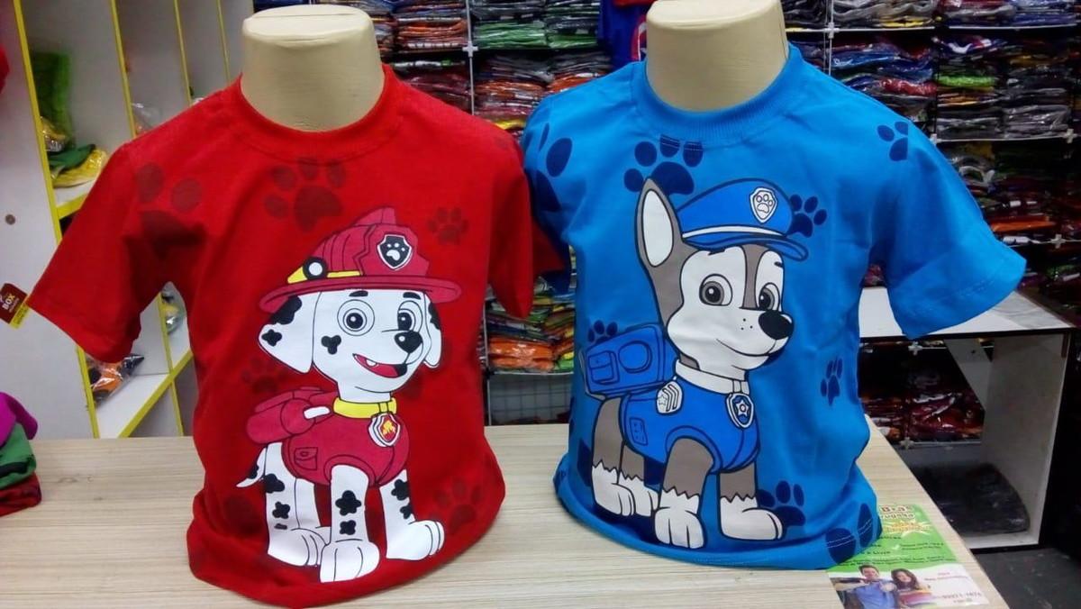 2de44d882 Camisetas Manga Curta Infantil Meninos De Personagem no Elo7 ...
