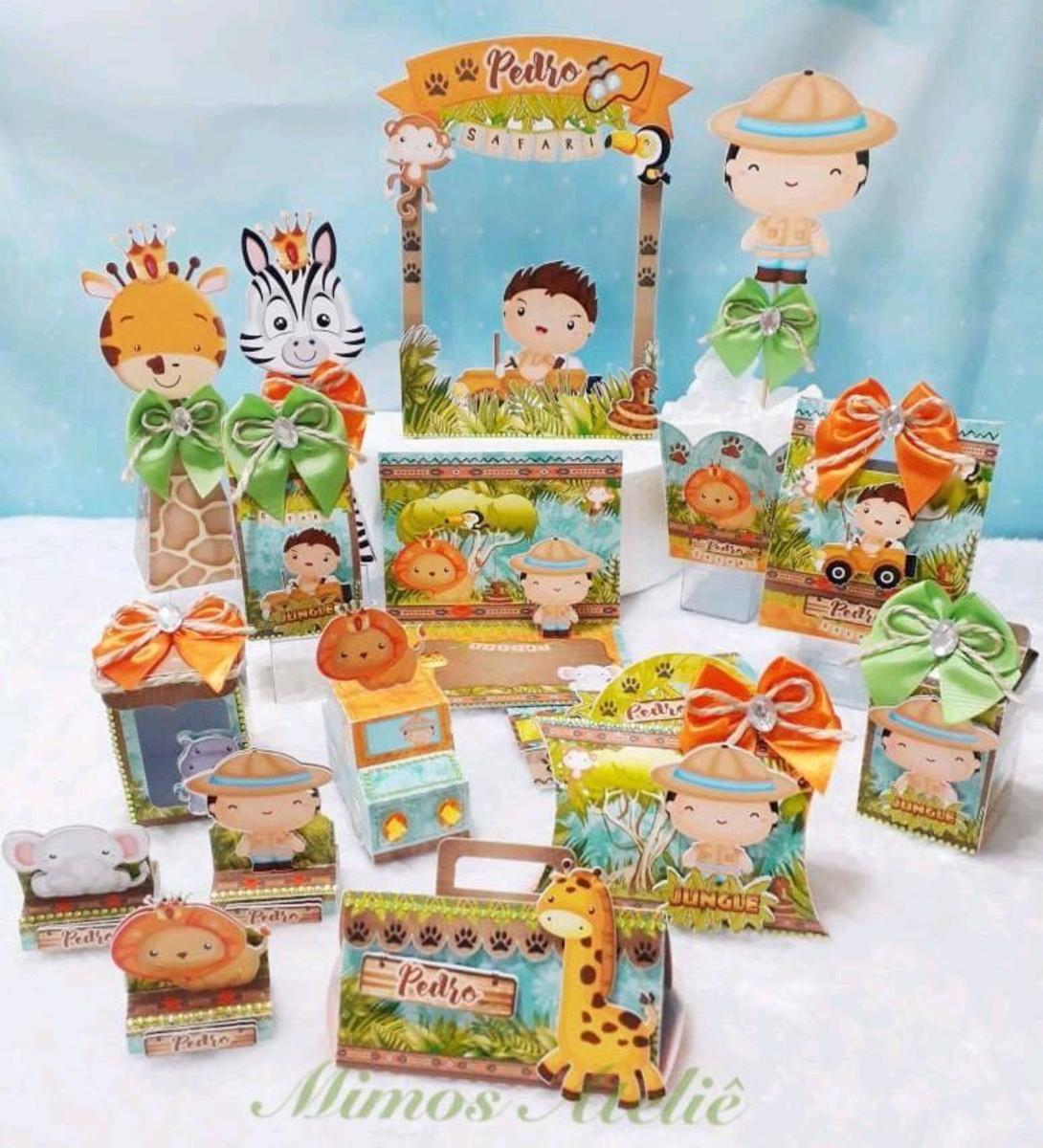 B.abá Festas: Kit personalizado para festa Minnie
