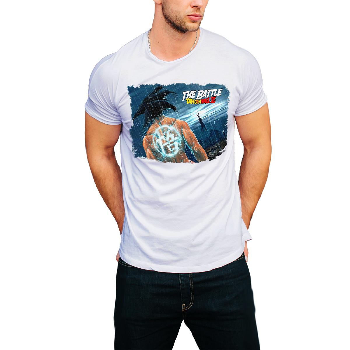 f74903eca Camiseta Dragon Ball Z Desenho Goku Anime Camisa Masculina no Elo7 ...