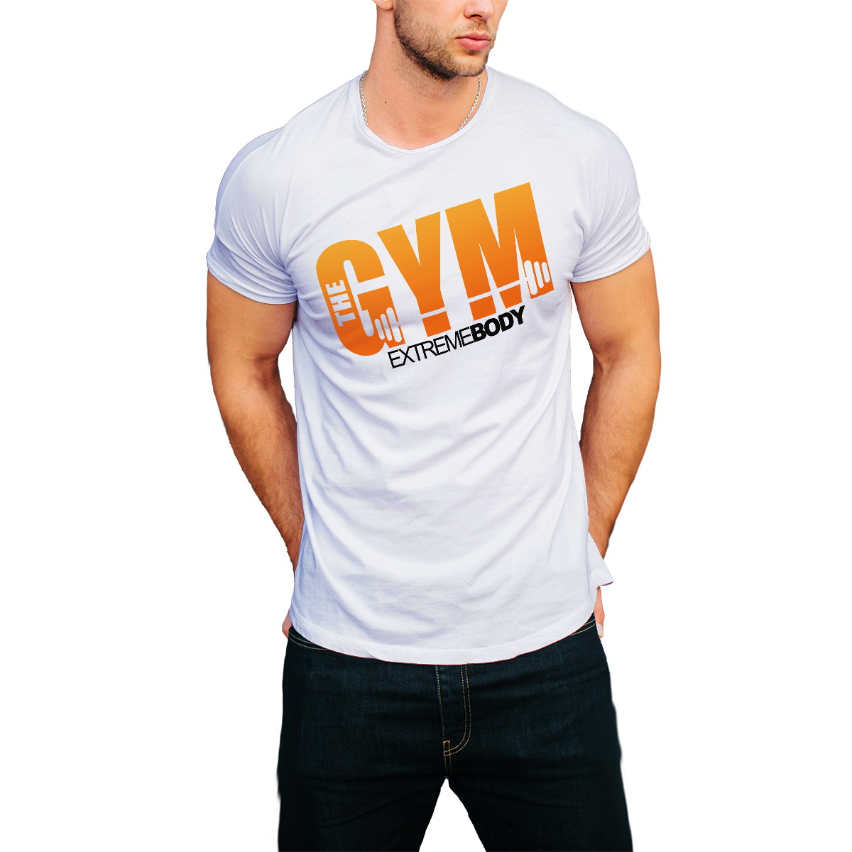 Camiseta Academia Treino Camisa Gym Esporte T-shirt BARATO no Elo7 ... b427fb4830b84