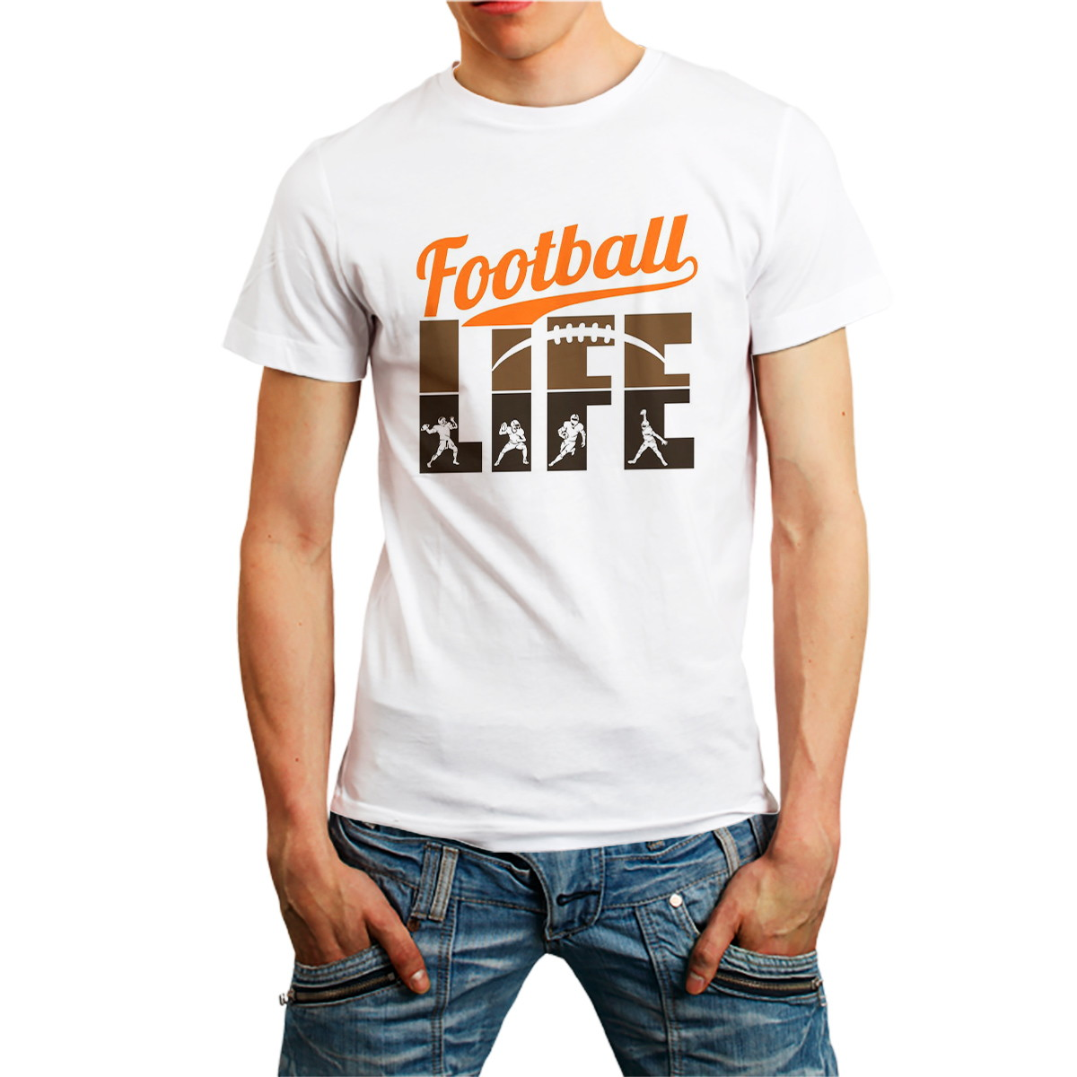 674b0d0d88 Camiseta Futebol Americano Football Camisa Homem Roupa no Elo7 ...