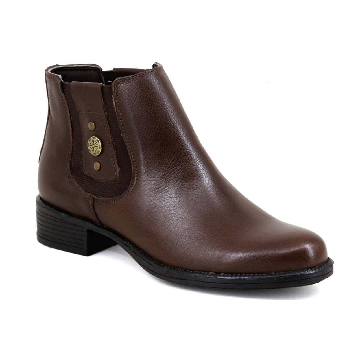 1045f05eb0 Botina Chelsea Boots Feminina Couro Legitimo Escrete 2464 no Elo7 ...