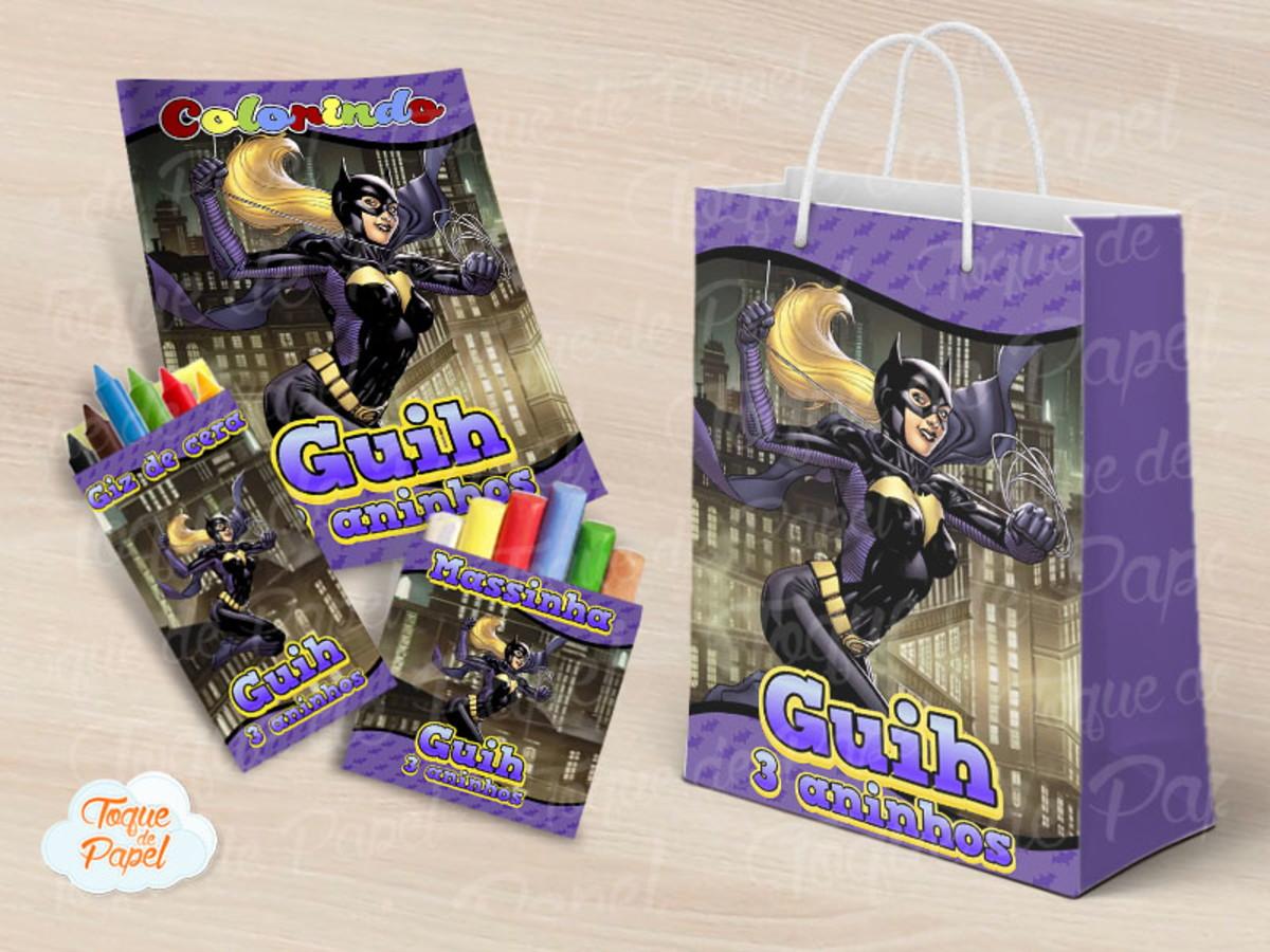 Kit Para Colorir Batgirl Batman No Elo7 Toque De Papel A80cd4