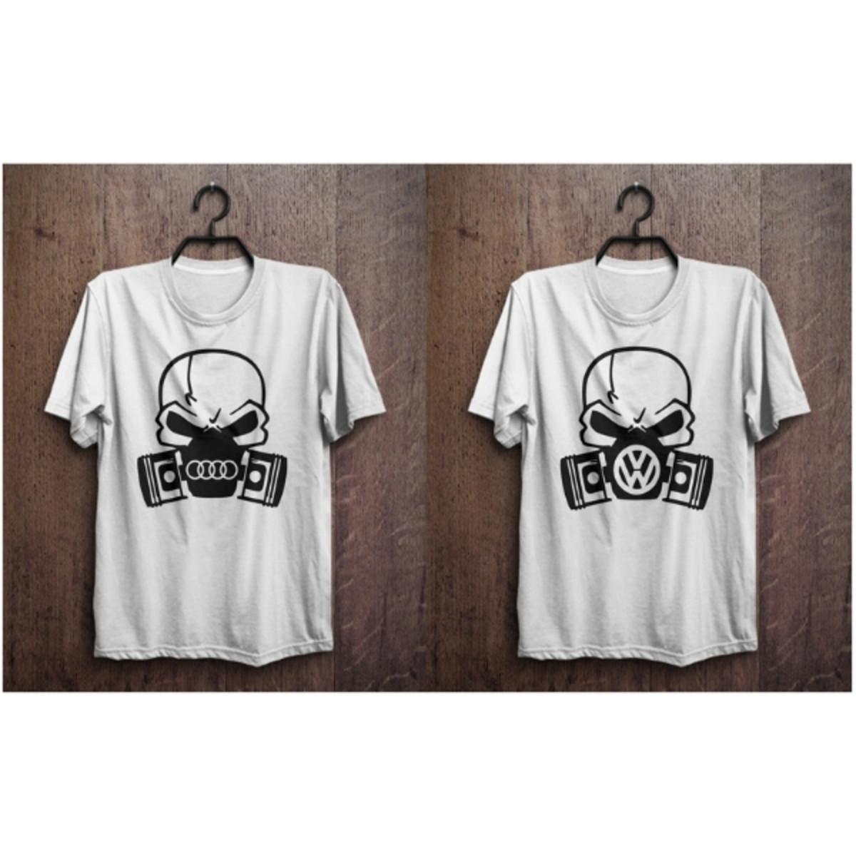 7186f48c63969 kit camisetas masculinas com estampa de caveira no Elo7
