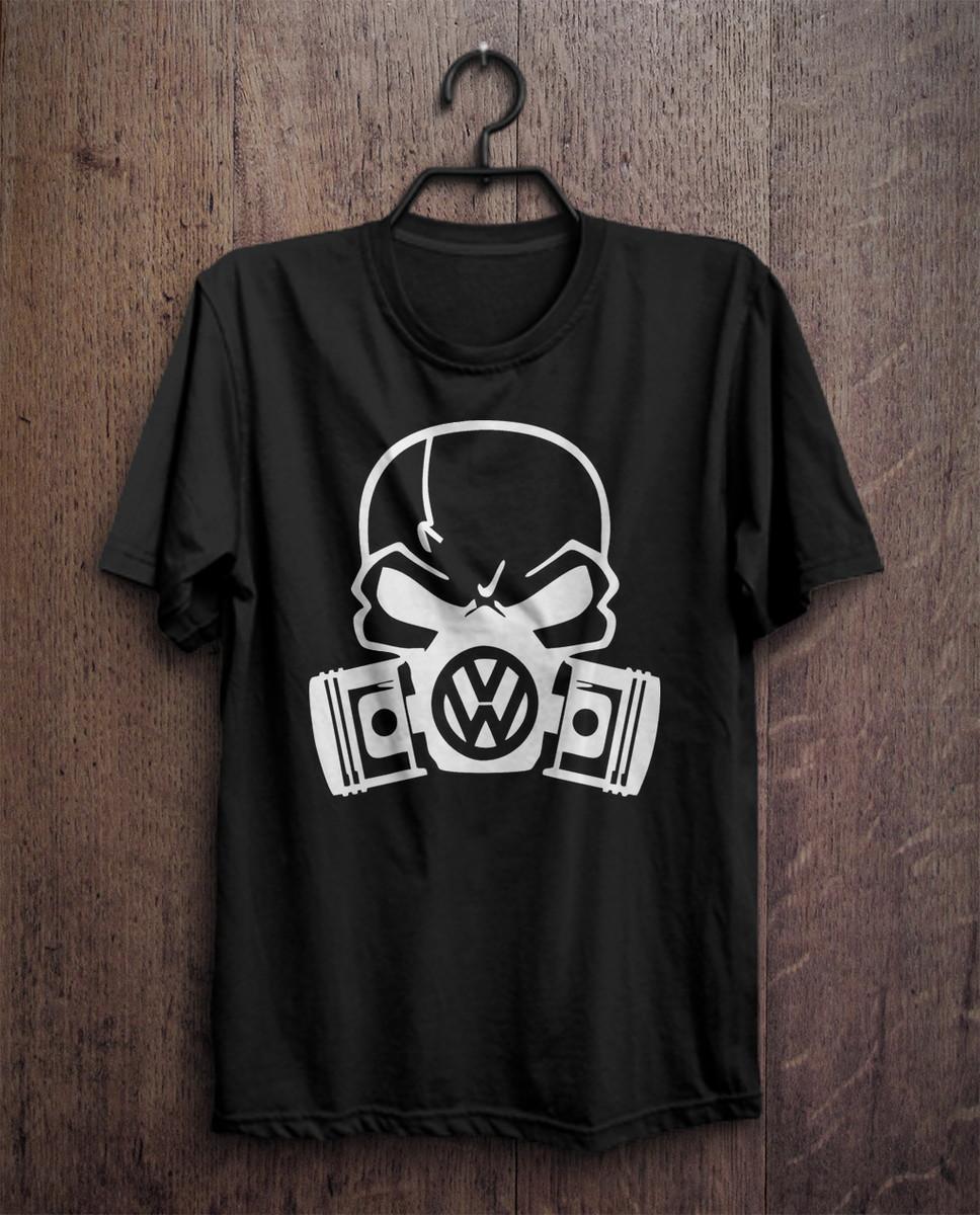 ad7b22c777888 camiseta masculina com estampa de caveira volkswagen no Elo7