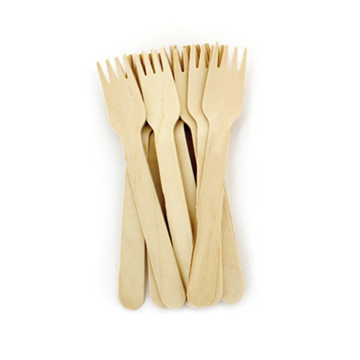 50d5a285f4a Garfo de madeira  10 unidades  Biodegradável no Elo7