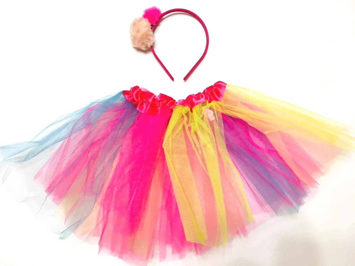 Fantasia Lol Infantil Saia Tutu Arco Iris 30cm Carnaval No Elo7 Roupa Para Festa Junina E Fantasia E6cb33