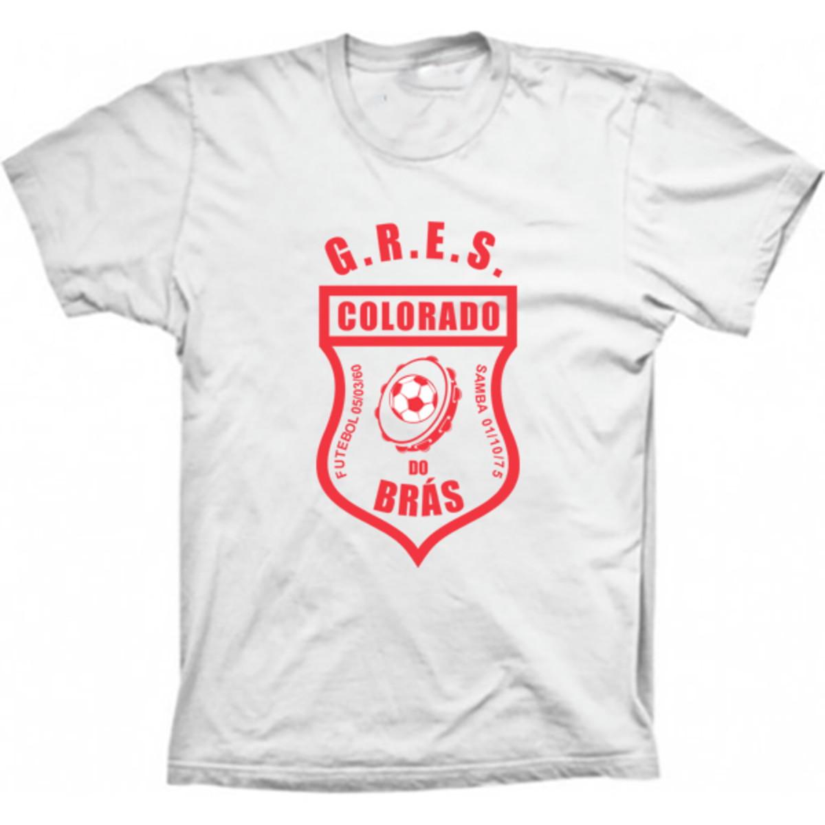 Camiseta Carnaval Colorado do Brás no Elo7  2afffe8092971