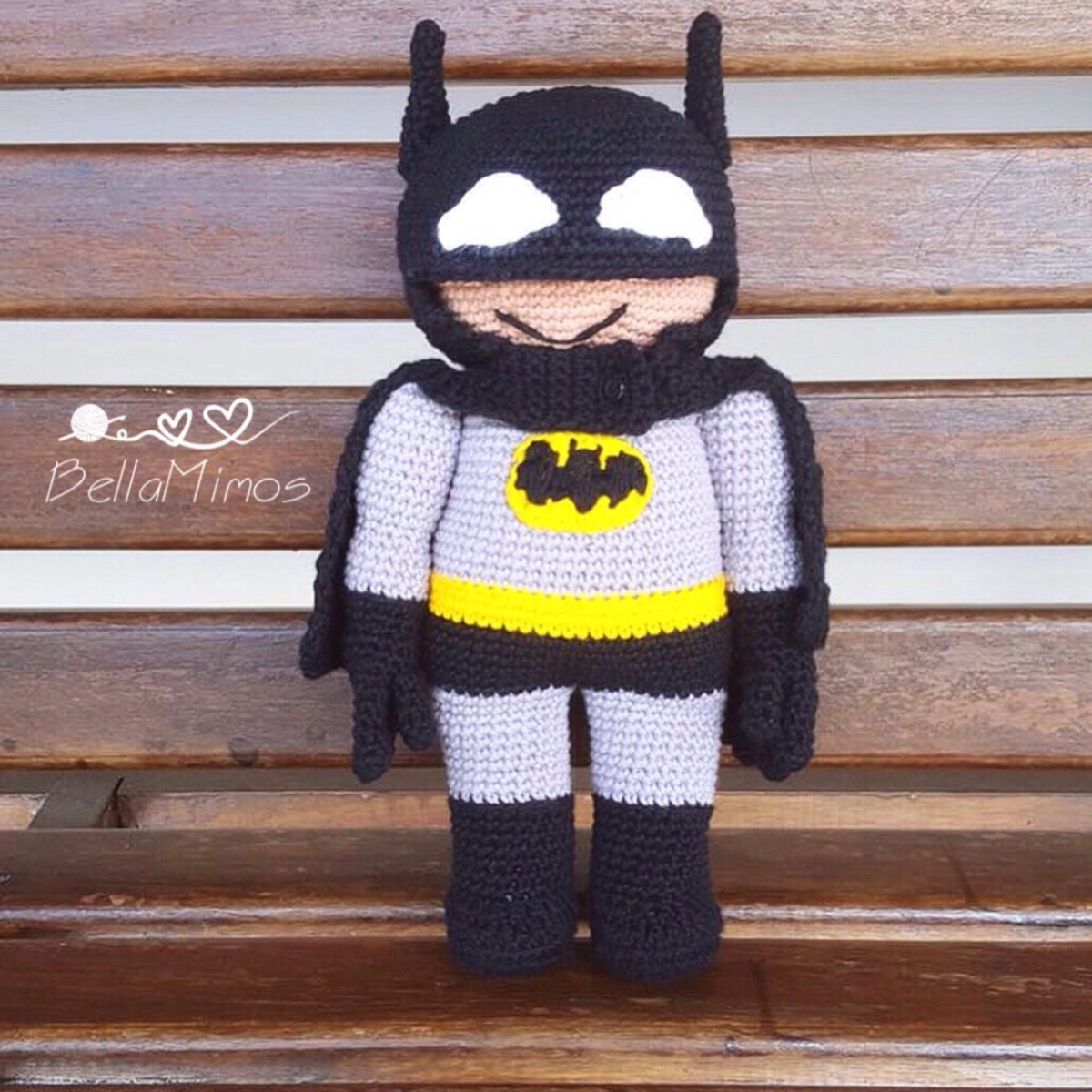Batman Amigurumi Doll by Sushumo on DeviantArt   1200x1200