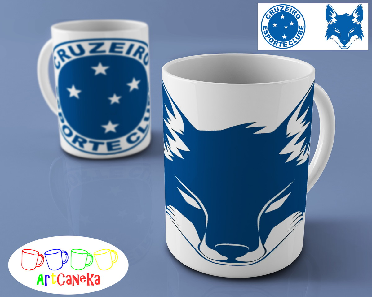 6d150568fb Caneca - Cruzeiro 01 no Elo7