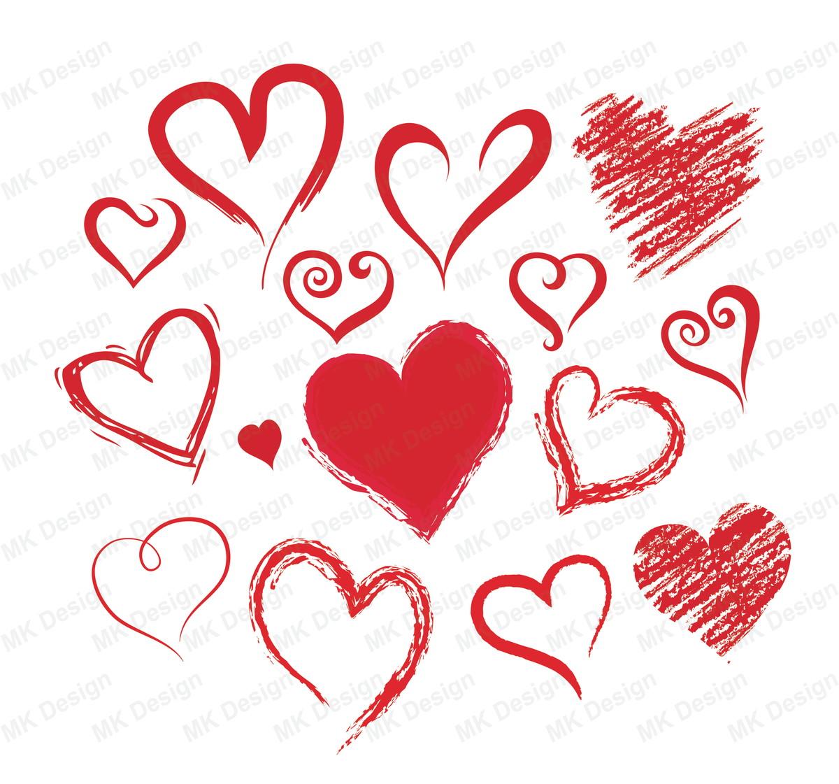 Vetor Coração No Elo7