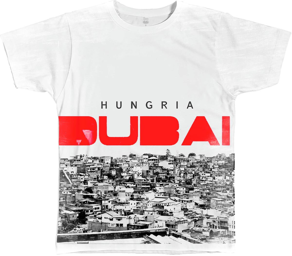 64308f5bfbde68 Camiseta Queima de Estoque Hungria Dubai Tamanho M no Elo7 | Estilo ...