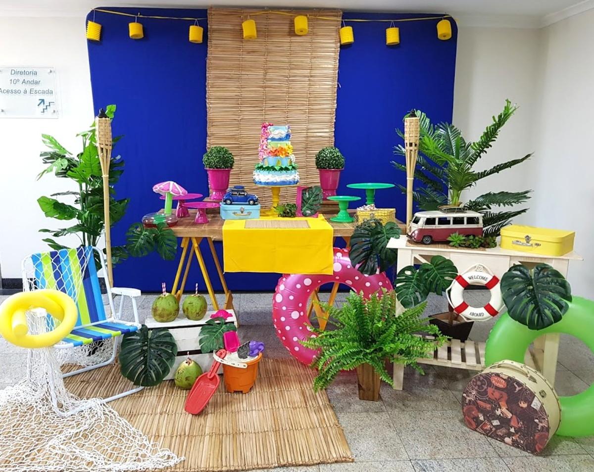 26c5000be71d4 Decoração Festa Praia ou Pool Party (locação Sp) no Elo7