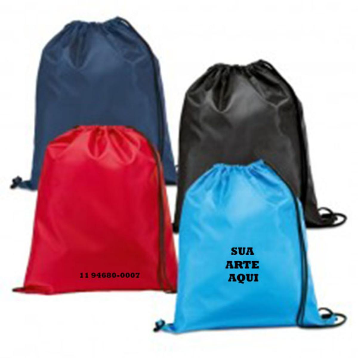 a8e7284b4 mochilas saco 30x40 cm nylon no Elo7   narutopersonalizados (E775CA)