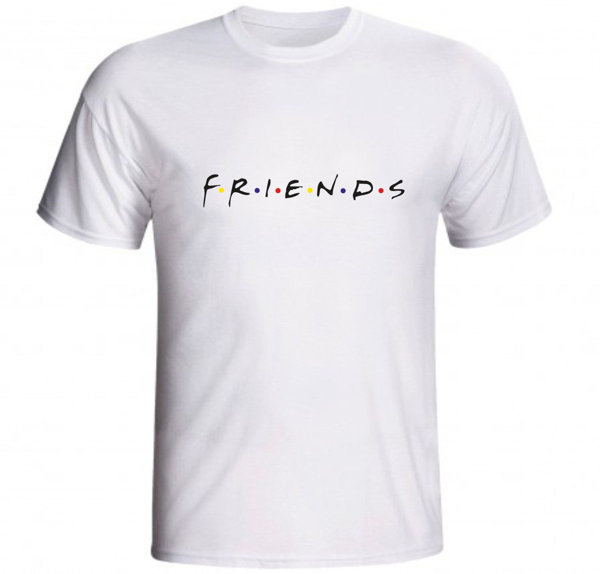3c55037c5e969 Camiseta Friends Rachel Joey Ross Chandler Monica Phoebe 01 no Elo7 ...