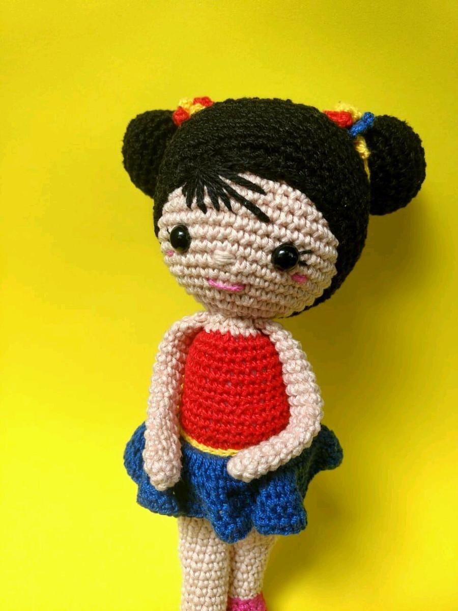 Boneca Chloe amigurumi no Elo7 | Arte da Japa (E907D8) | 1200x900