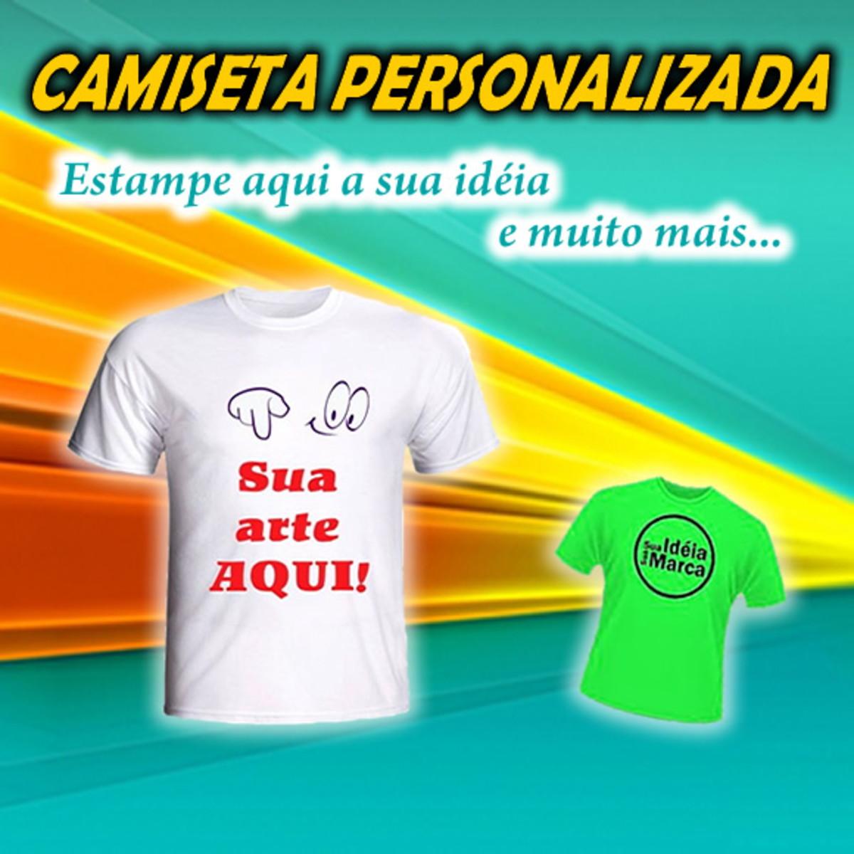 602cd0947a Camiseta Personalizada no Elo7