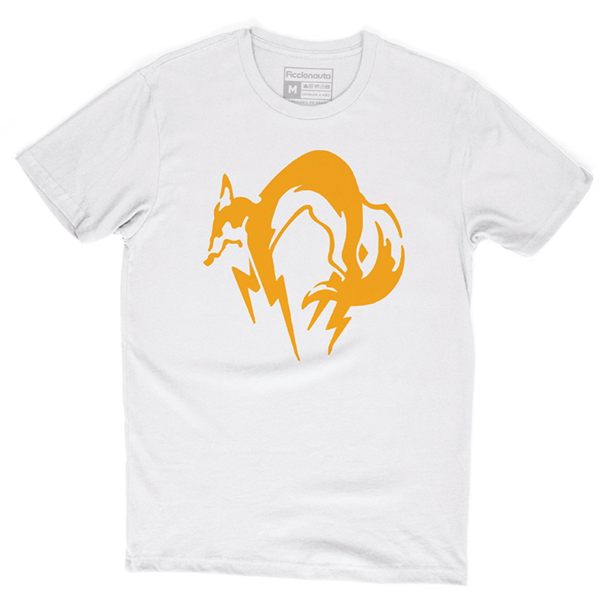 a190bdd22d5b9 Camiseta Metal Gear Solid Fox Foxhound Snake Camisa Games no Elo7 ...