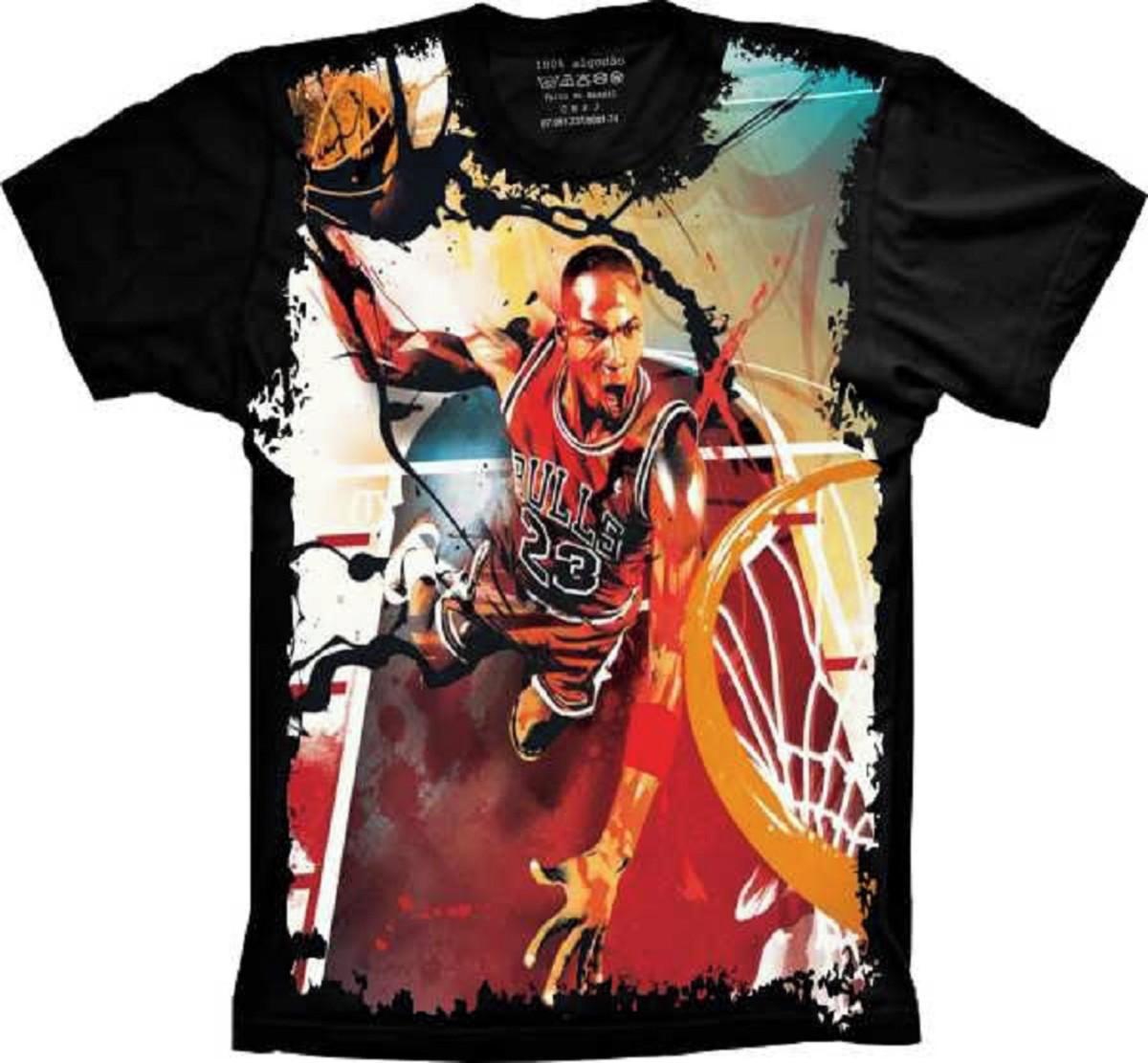 22ae34173 Camiseta Bulls Basquete no Elo7