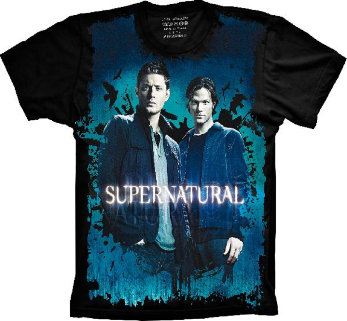 31d02e099a Camiseta Supernatural Dean e Sam no Elo7 | Camisetas 4Fun (E8A9C5)