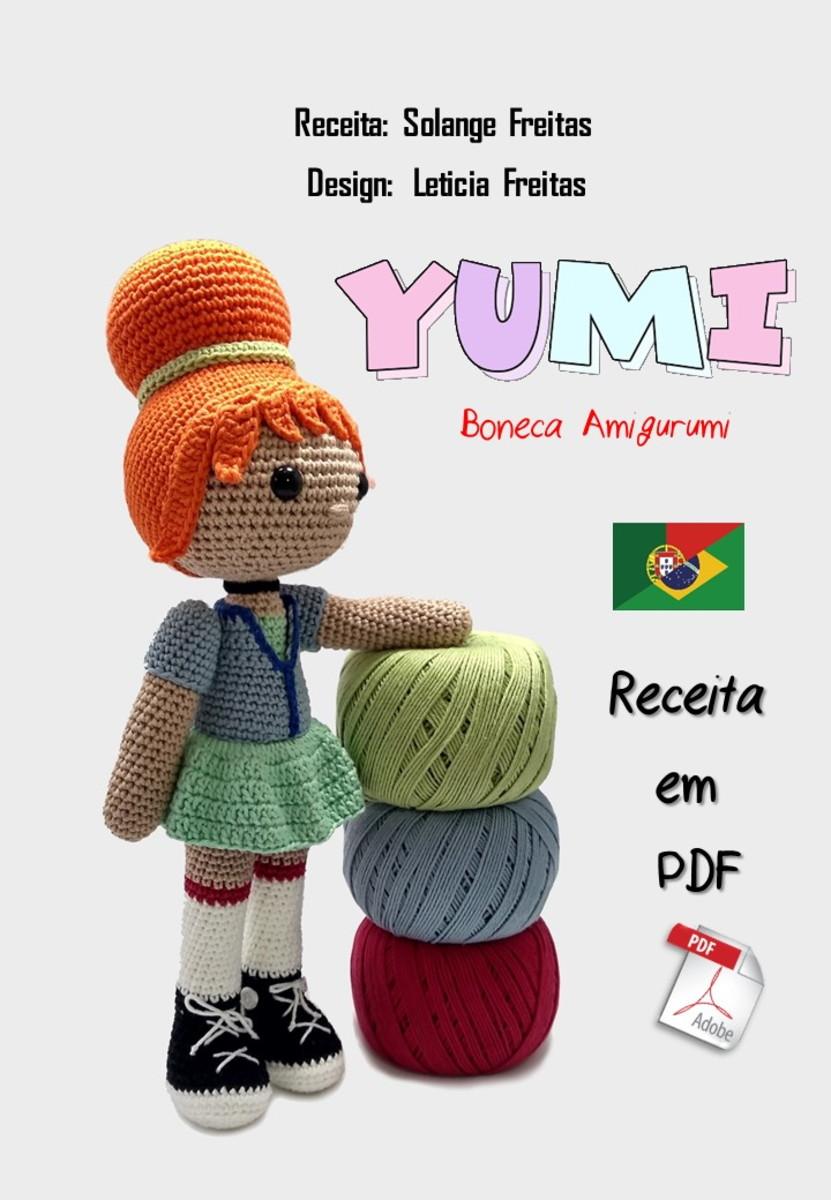 As 8 Melhores Receitas de Bonecas Amigurumi em Português - Artesã ... | 1200x831