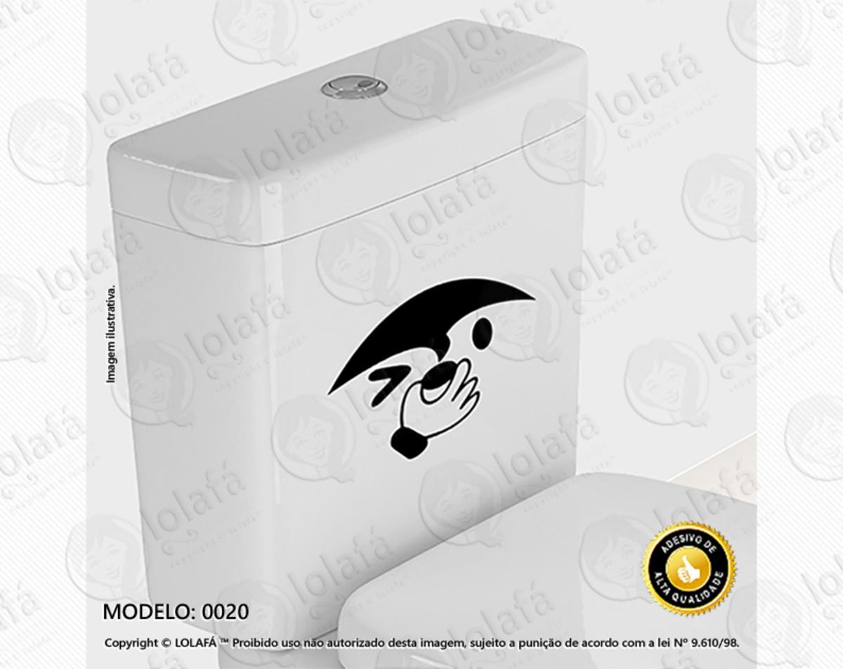 ebc0aa5812 Kit C 2 Adesivos para Box de Banheiro Mod 6 Perigo no Elo7