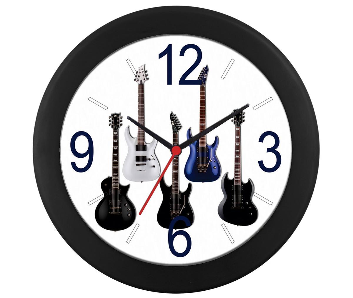 d0140f5b753 Relógio parede guitarra no Elo7