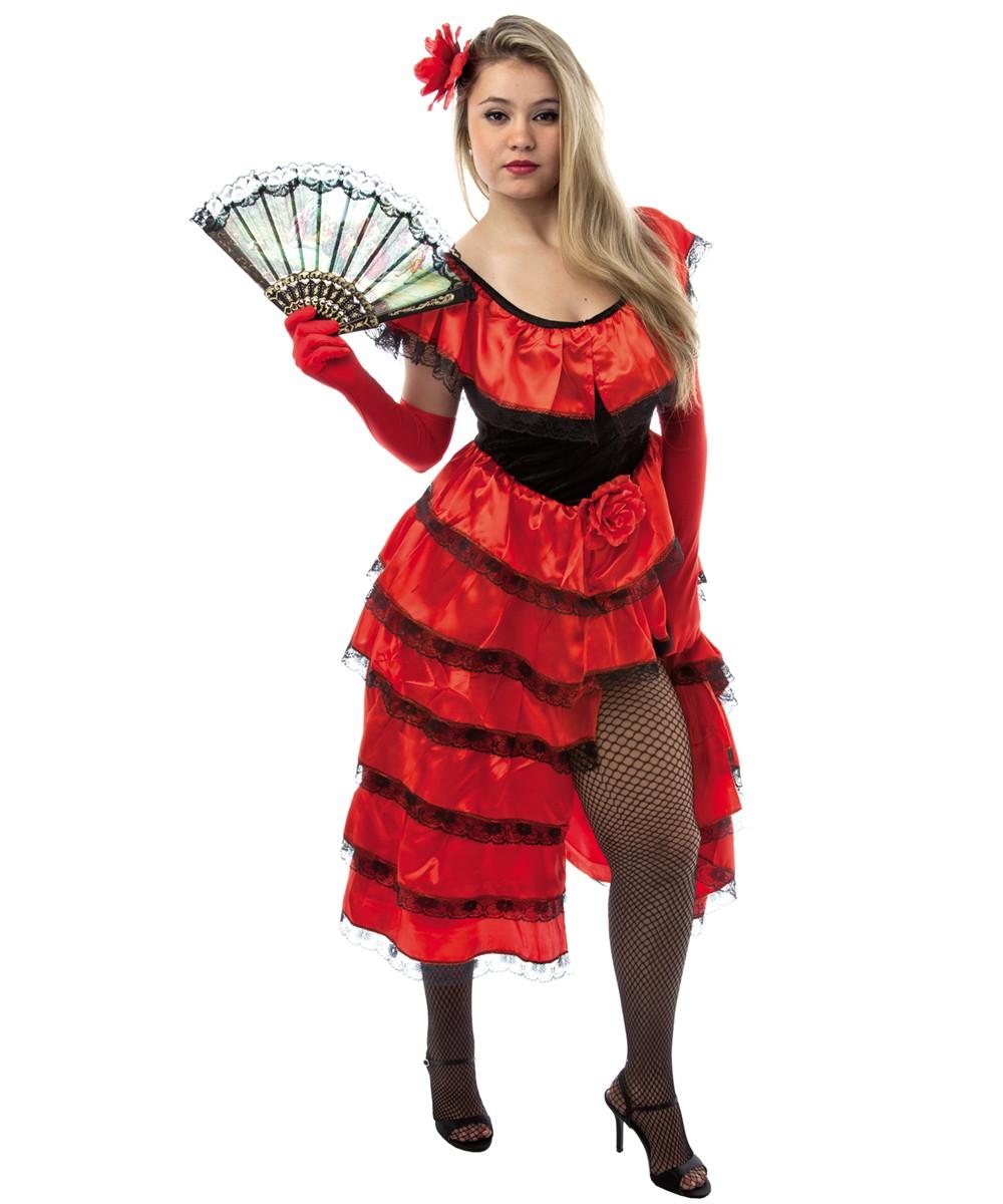 Fantasia Espanhola Adulto Feminino Carnaval no Elo7  297fc994243