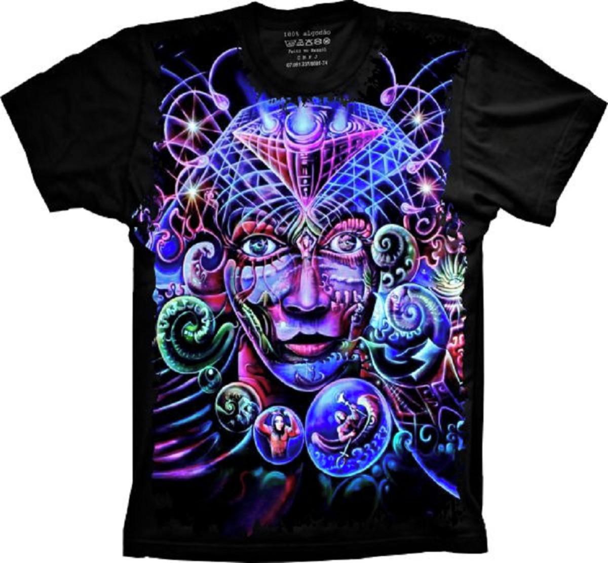 5bbfdc3982 Camiseta Visão Psy no Elo7