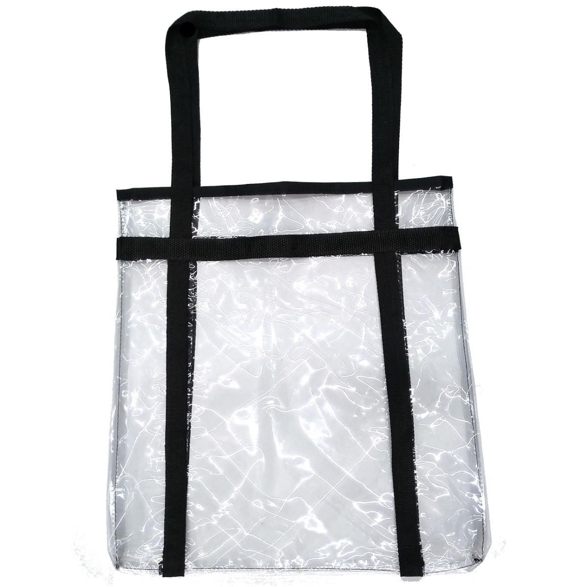 86e6e9b1a Sacola em PVC Cristal transparente simples 40x40x10 no Elo7 | Mania ...