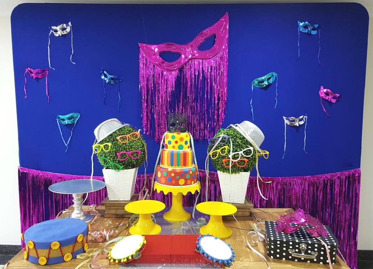 2bcde1e594a1d Decoração Festa Carnaval ou Bailinho (locação Sp) no Elo7