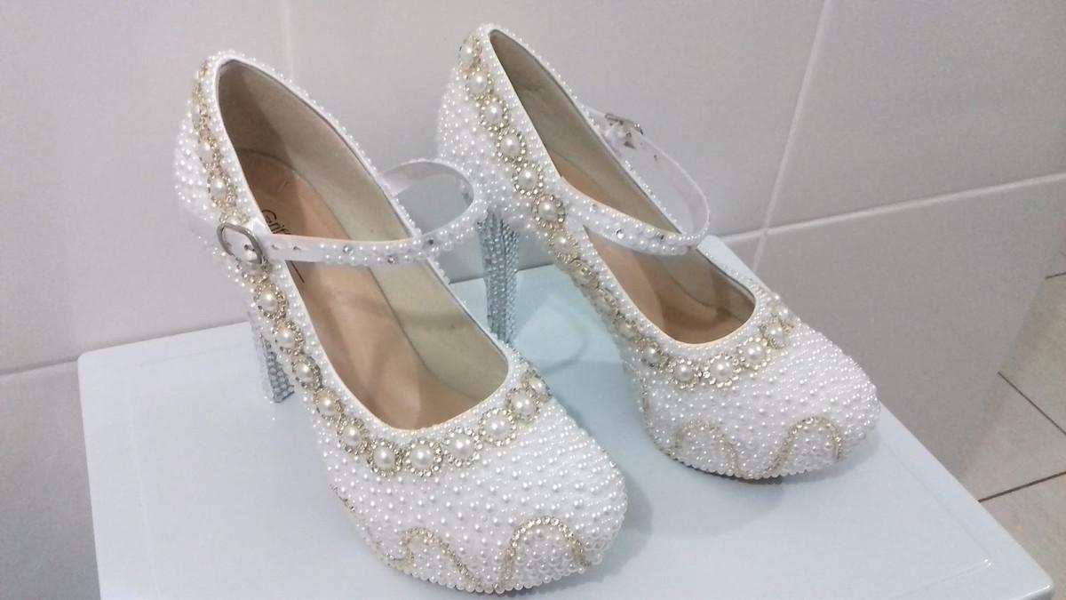26f58fbc91 Sapatos Noivas - Debutantes personalizados. no Elo7