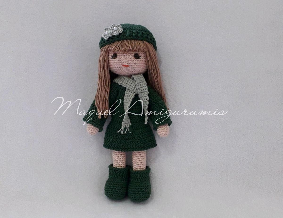 Crochet ADRY Doll, Purple dress, Amigurumi Doll, Crochet Doll ... | 925x1200