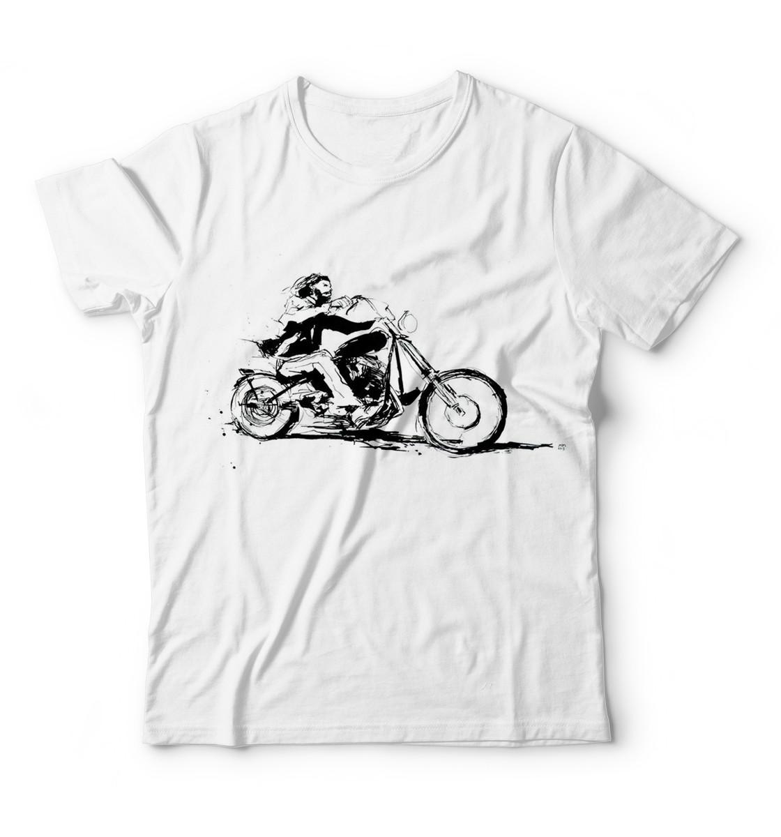 0467f8638 Camiseta Harley Davdsons Shadow Intruder Estampa de Moto Cam no Elo7 ...