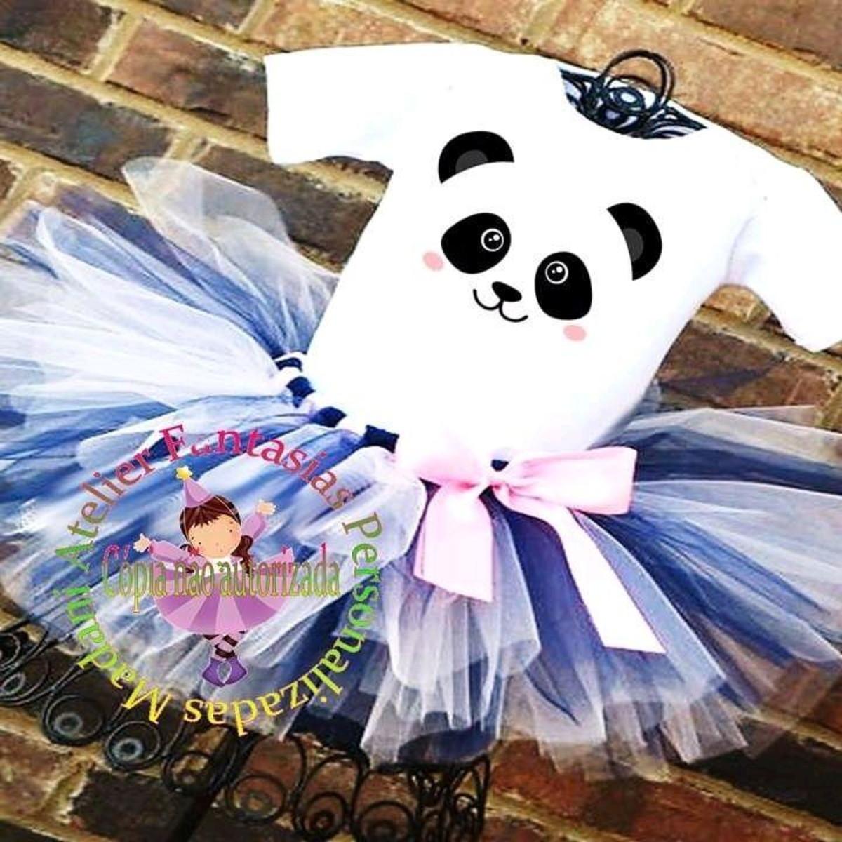 Fantasia Luxo Urso Panda 1 Ao 8 No Elo7 Atelier Madani Fantasias Personalizadas E9fc78