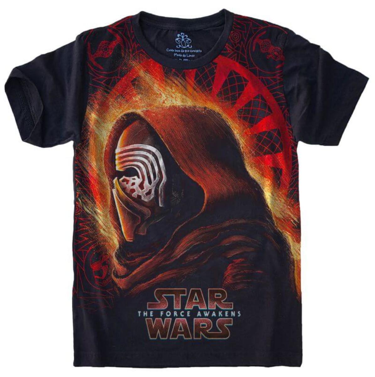 bbe39eb397 Camiseta Star Wars no Elo7