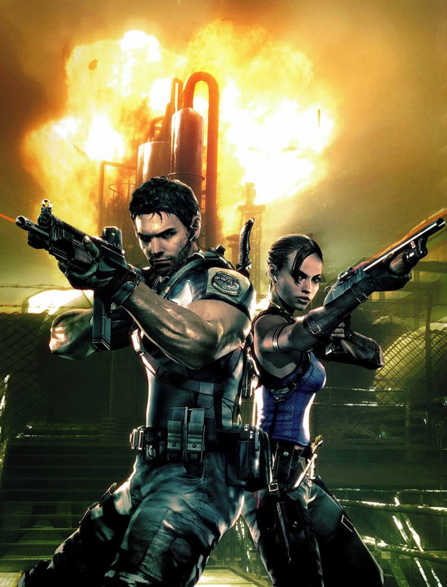 resident evil 5 movie characters