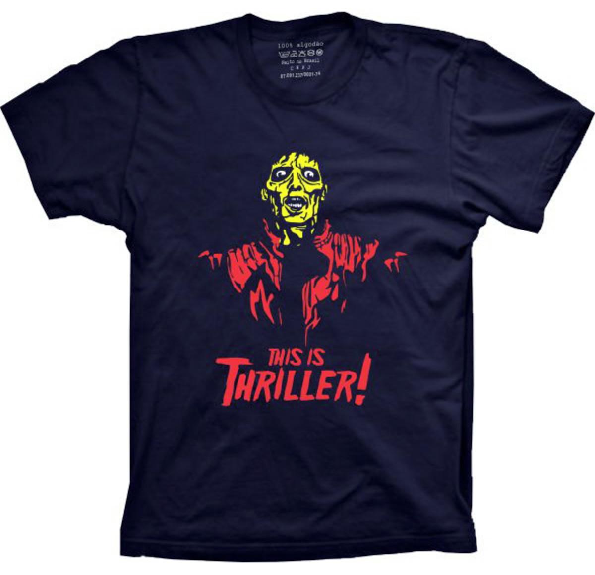71752c27cc Camiseta Michael Jackson Thriller no Elo7