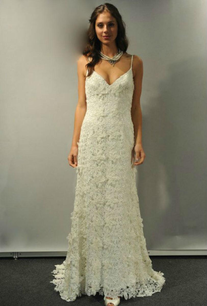 Queima Total Vestido Noiva Renda Guipir Alcinha Boho Chic