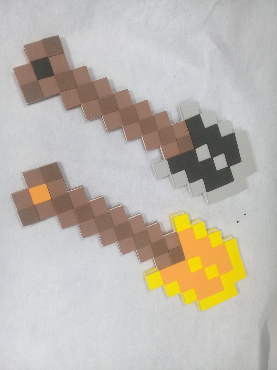Picareta Minecraft 3D
