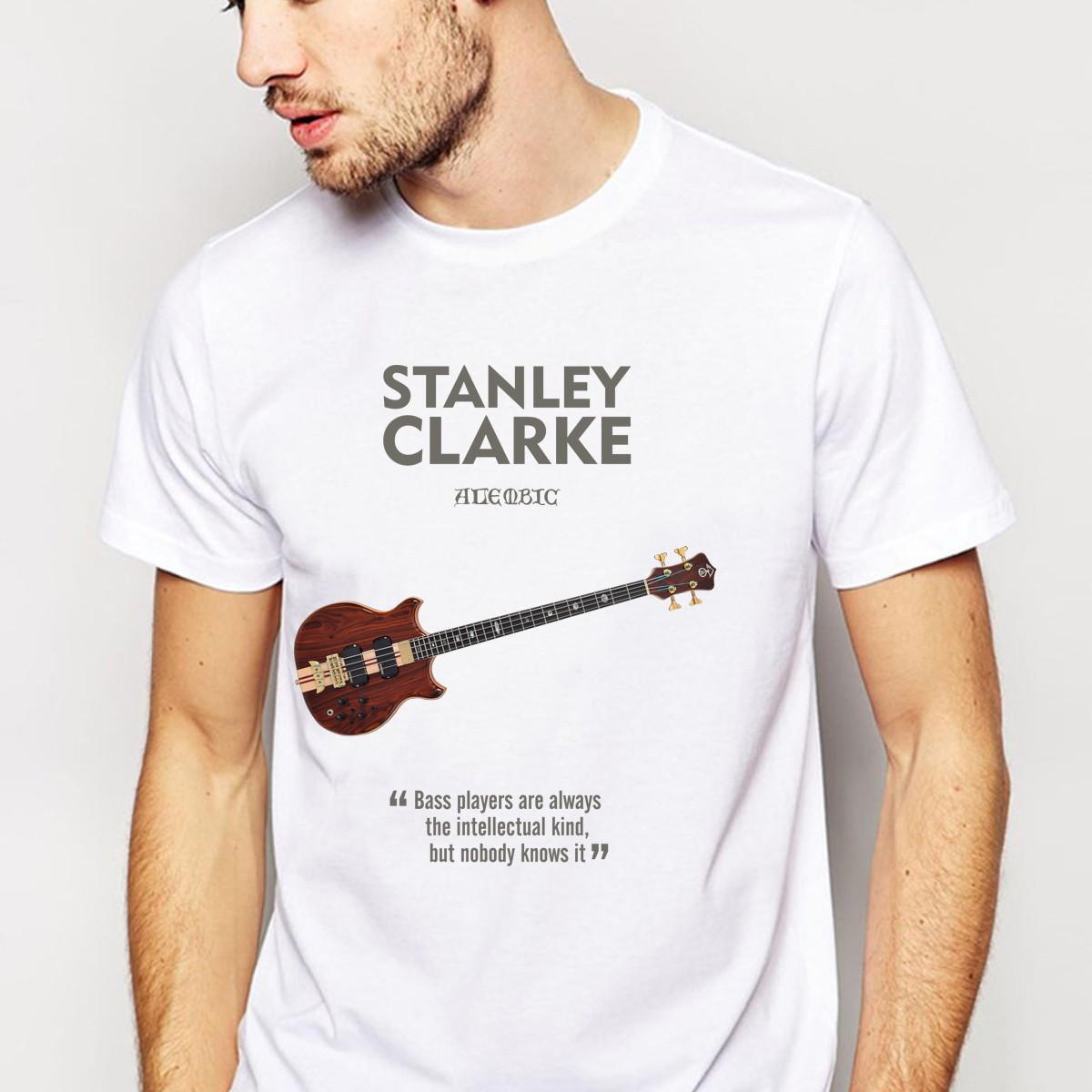 4ba76d99ff Camiseta Jazz Baixo Alembic Stanley Clarke no Elo7