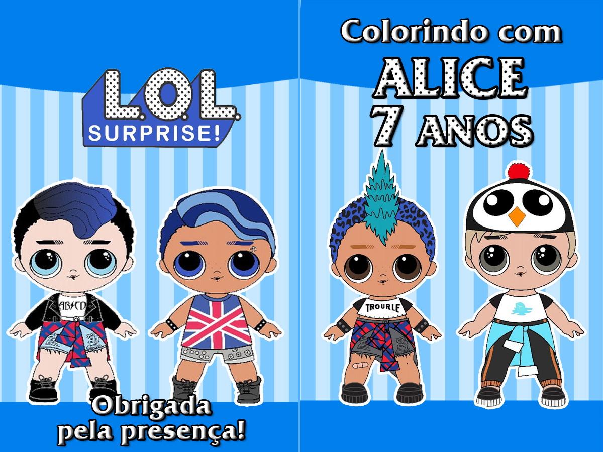 Lol Boys Revista Colorir 14x10 No Elo7 Tudo De Festa Galvao Eb5202