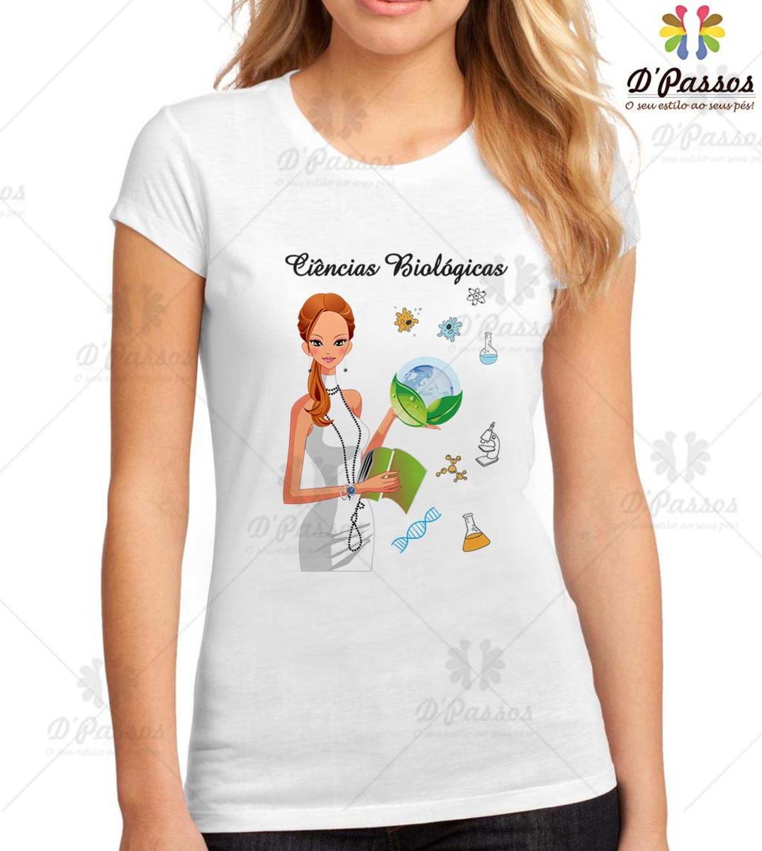 4f6f27b30 Camiseta Profissões-Ciências Biológicas 1 no Elo7
