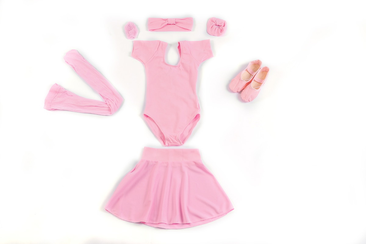 86b6615418 Kit Ballet Ballet Infantil Completo Rosa Tamanhos do 4 ao 14 no Elo7 ...