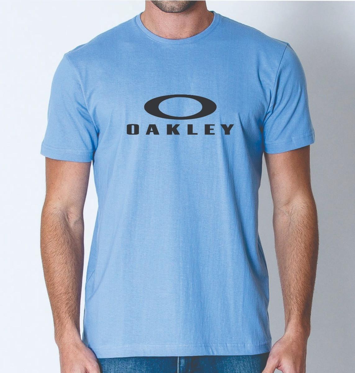 10874b2128366 Camiseta Camisa Ou Baby Look Marca Oakley Promoção no Elo7