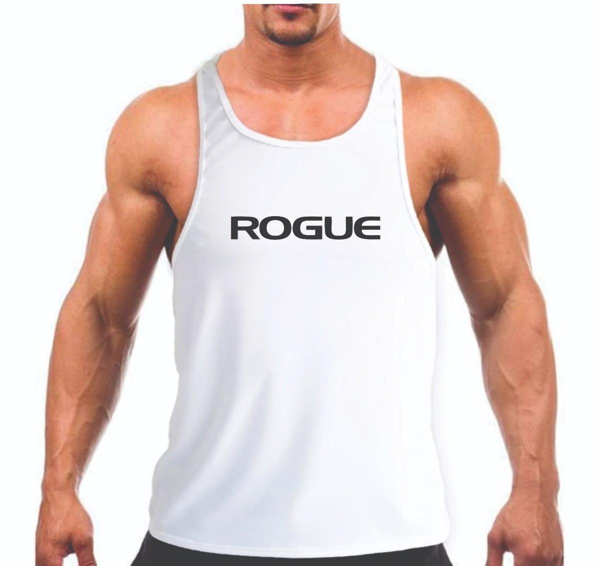 e797573780925 Camiseta Regata Rogue Academia Musculação Personalizada no Elo7 ...