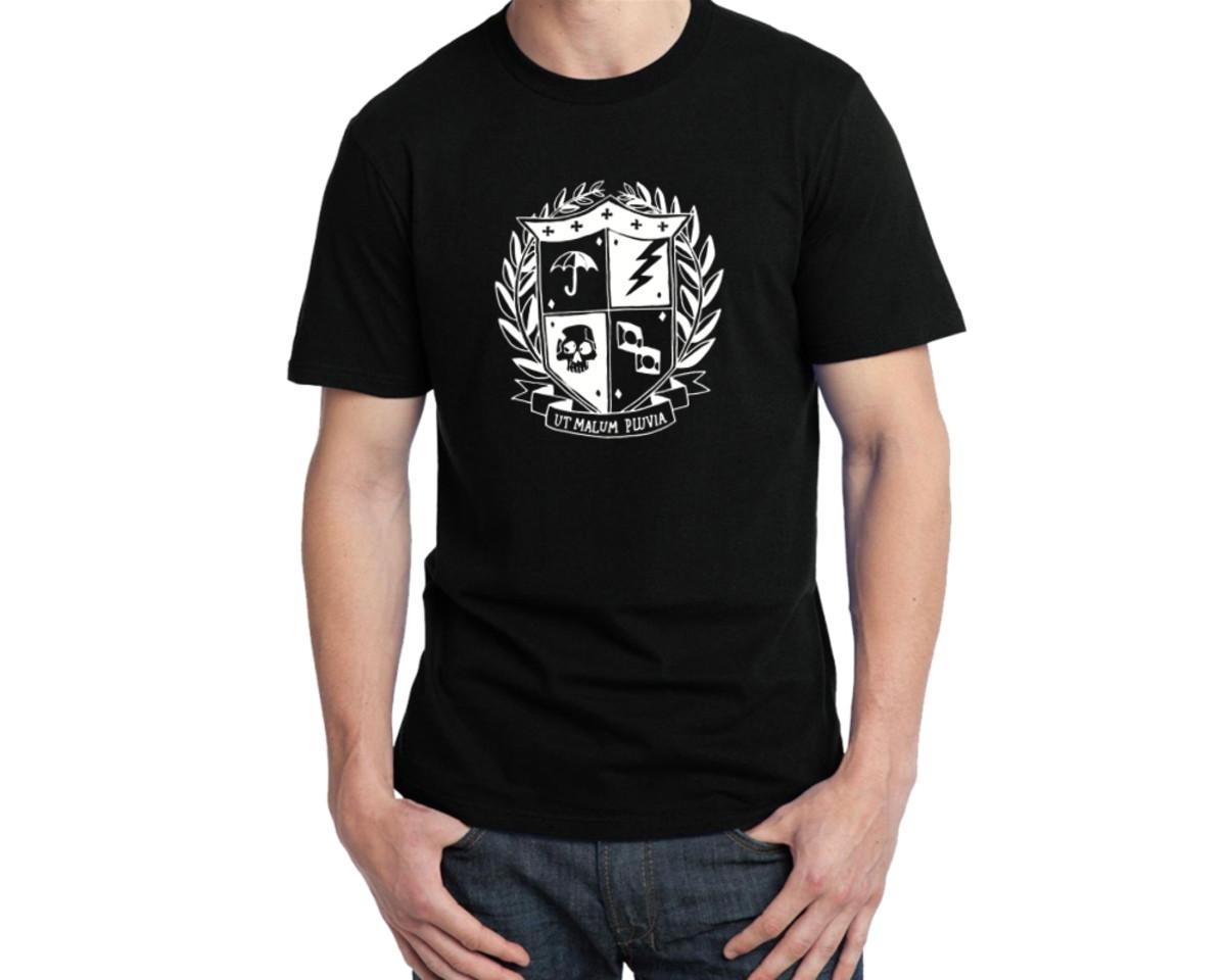 7efc7d447 Camiseta The Umbrella Academy Brasão no Elo7