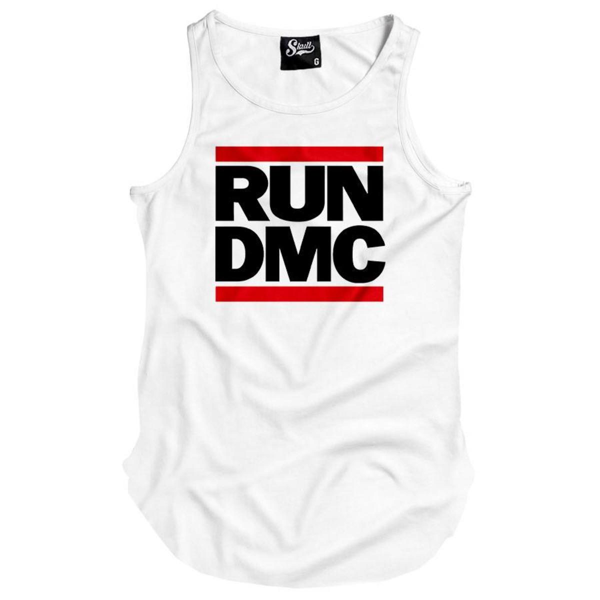 aeee186b5 Camiseta Regata Masculinas Longline Run Dmc Swag rap no Elo7