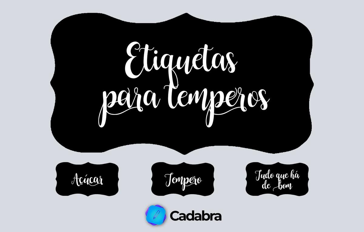 Etiquetas Para Temperos Produto Digital No Elo7 Cadabra E27ae0